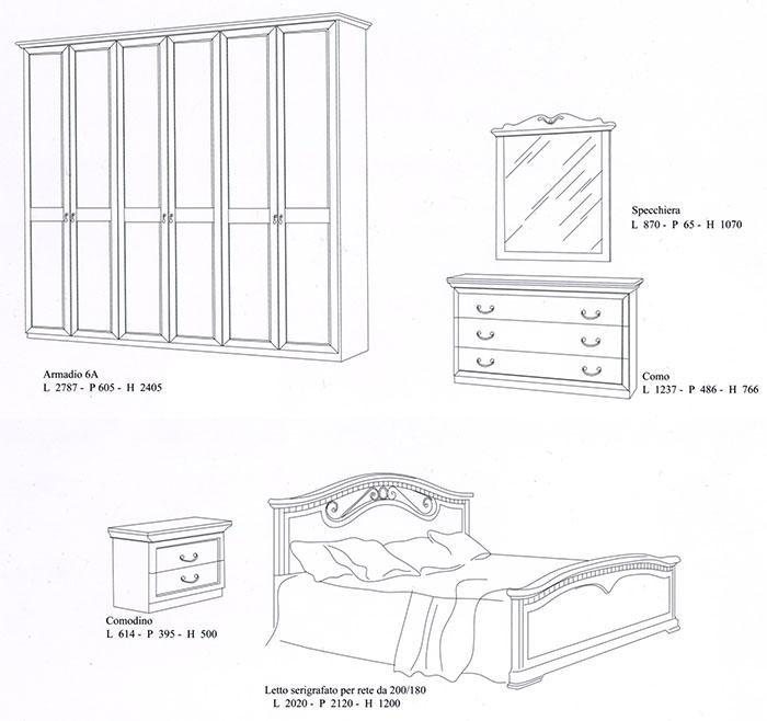 Спален комплект Анна