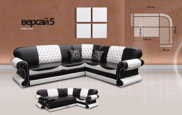 Мека мебел серия Версай